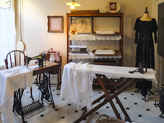 Casa Milà - Sewing and ironing room