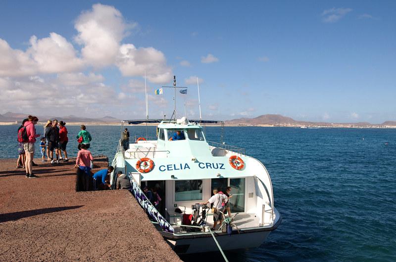 Boat to Isla de Lobos, Fuerteventura
