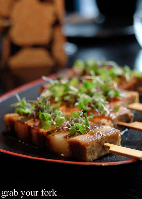 Kurobuta pork belly at Sokyo at The Star, Pyrmont