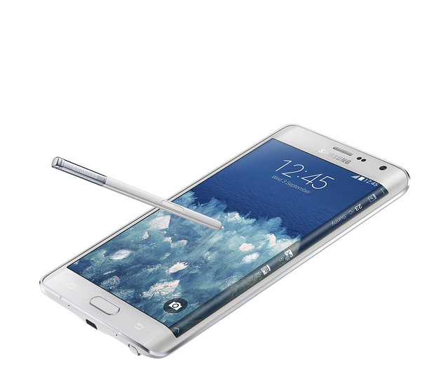GALAXY Note Edge_White_Image 2