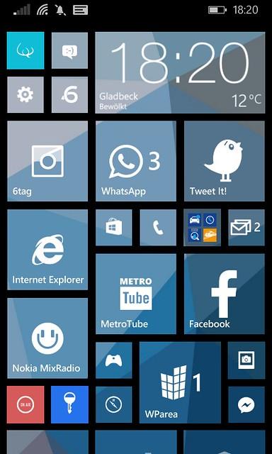 Start-Screen 8.1
