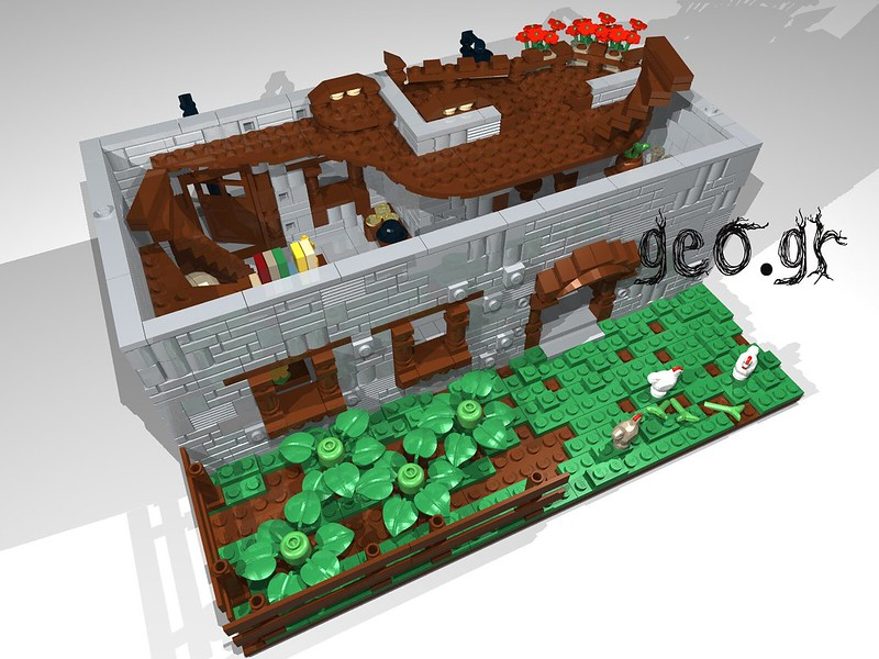 [Digital MOC]:Modular Cottage House 15111773250_5631a87d68_c