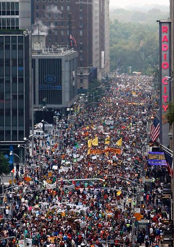 Climate March Sept. 21, 2014 NYC
