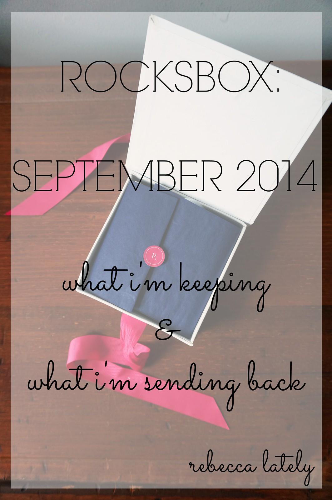 Rocksbox September 2014 1
