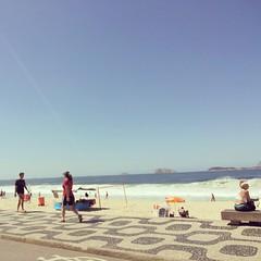 Deixar o Rio é sempre uma saudade apertada...