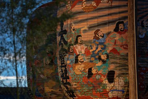 2014 A large paper lantern festival D600-100