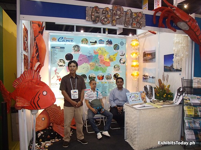 Capiz Exhibit Booth