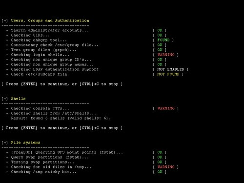 Lynis - Linux Security Auditing Tool