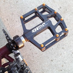 Best platform pedals ever. I have been riding these for the last 10 months. I need then on all my bikes.