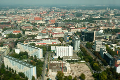 Panorama of Wroclaw