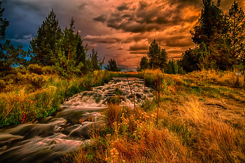 painterly art water oregon photography landscapes high scenery dynamic bend fine range cascading