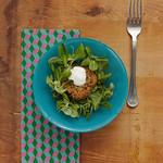 zöldséges quinoafasírt