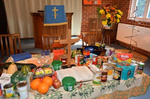 Harvest Thanksgiving 2014