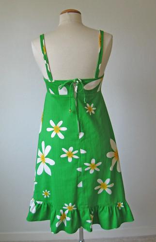green dress back