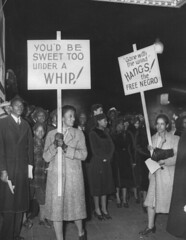 D.C. Pickets 'Gone With the Wind' Opening: 1940