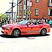 Ford Mustang, Lombard Street, San Francisco, CA, USA.