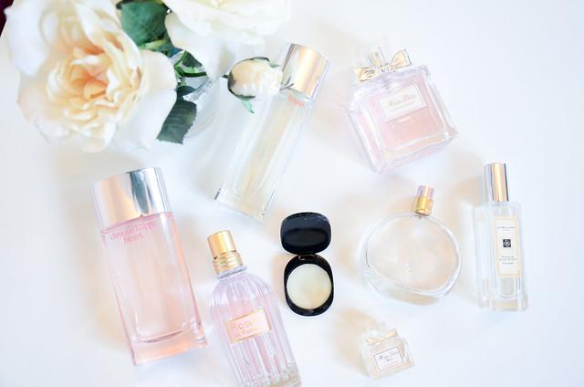 Pink designer perfumes