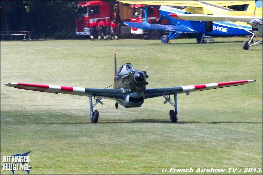 Morane Saulnier D-380 ,Dittinger Flugtage 2013