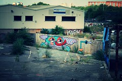 Bromley By Bow Grafitti