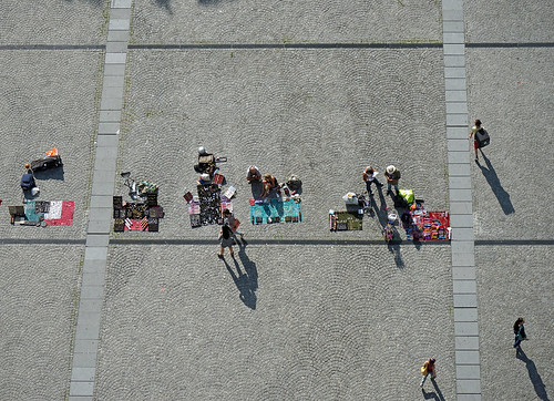 La Piazza devant le centre Georges Pompidou à Paris