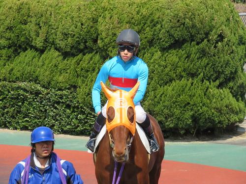 佐賀競馬場で期間限定騎乗していた岡村健司騎手