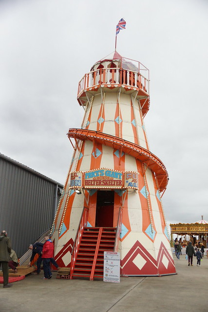 Helter Skelter, Horton's Steam Fair, 75th Members' Meeting, Goodwood