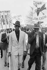 'Down Jim Crow' at youth schools march: 1959