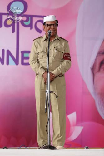 Up-mukhya Sanchalak SNSD, S.K. Juneja from Delhi