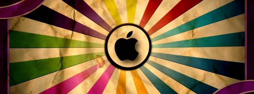 Bộ ảnh bìa Facebook mang logo Apple cho Fan nhà táo