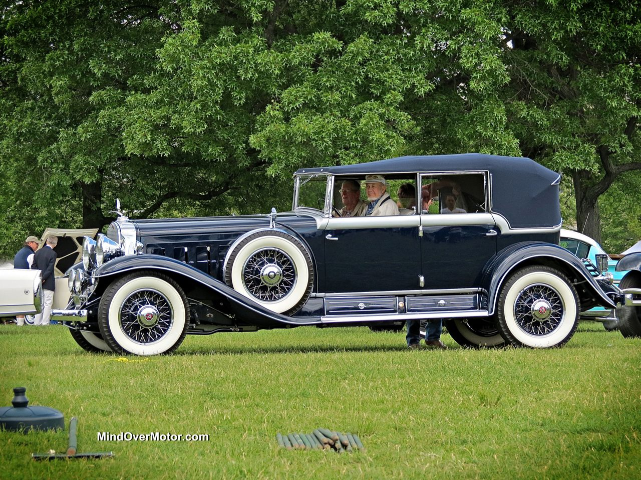 1931 Cadillac V16 452A by Fleetwood at the Greenwich Concours