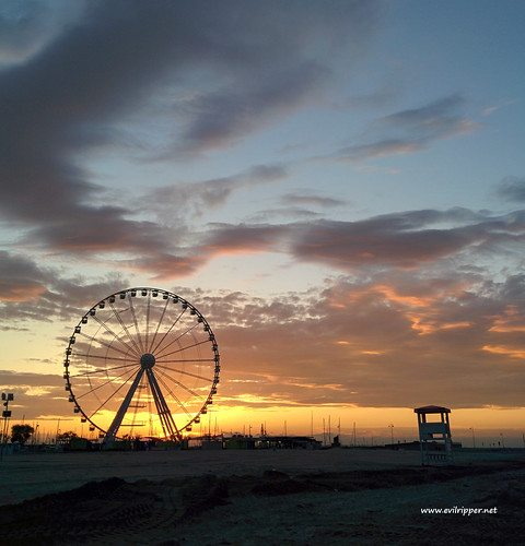 sunset beach ferris rimini ferriswheel skyporn anawesomeshot