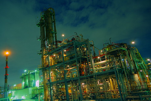Nightscape at Kawasaki Industrial Zone 34