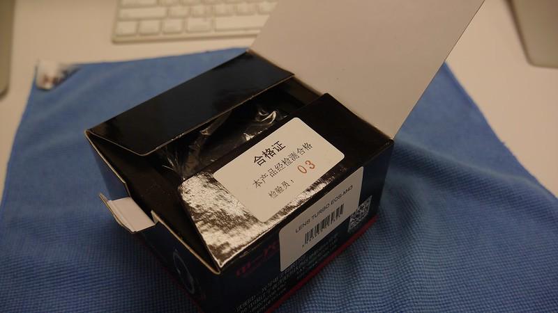 ZhongYi Lens Turbo EF/MFT 開箱