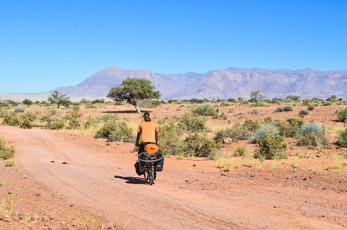 Cycling Damaraland, Namibia