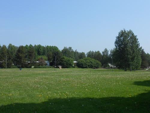 Nurminäkymä, Pohjois-Tapiola Espoo 4.6.2014