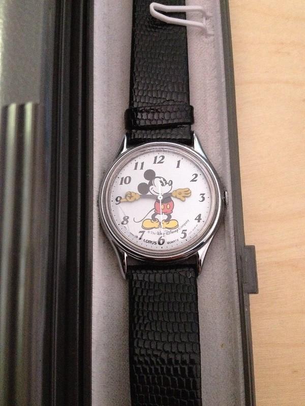 Horloge mickey vintage