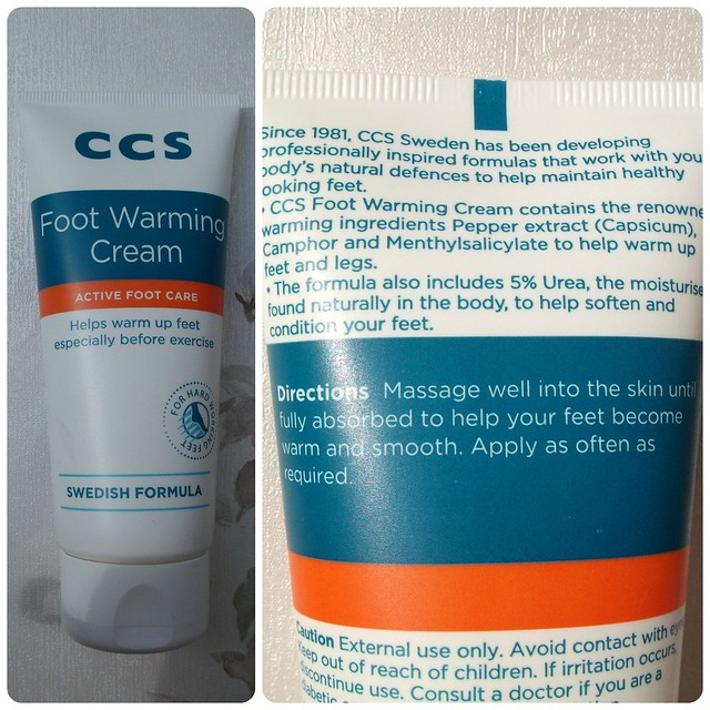 CCS Foot Warming Cream