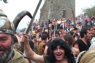 La Romería Vikinga de Catoira.