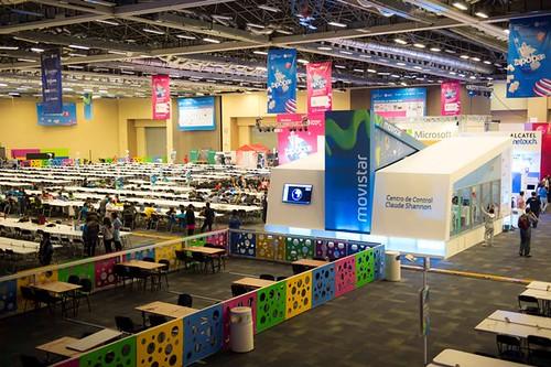 Todo listo para Movistar Campus Party 2014