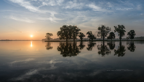 park trees boy lake reflection sunrise island dawn state scout iowa councilbluffs manawa