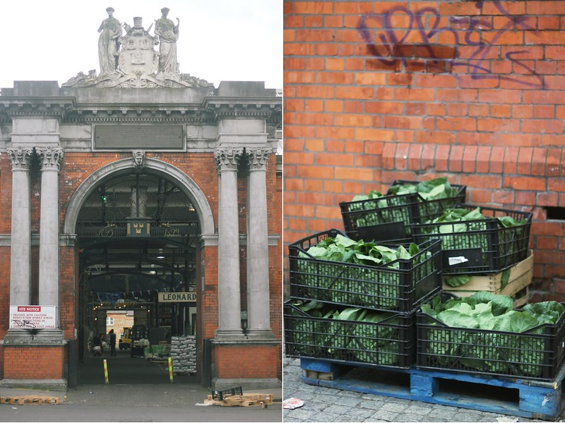 victorian fruit and vegetable market + lettuce box