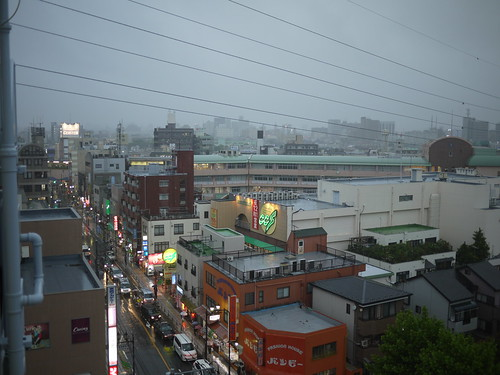 rainy Tokyo sky