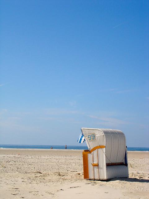 Strandkorb Amrum