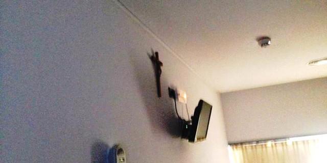 Crucifijos en el Hospital de Castellón