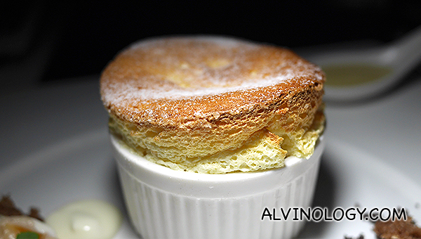 Love the super fluffy souffle