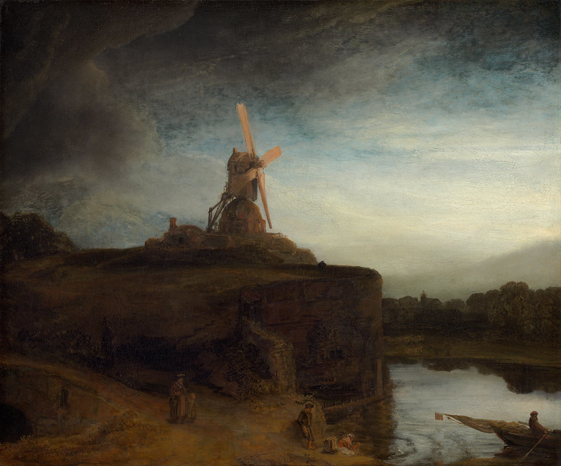 Rembrandt van Rijn - The Mill (c.1645)
