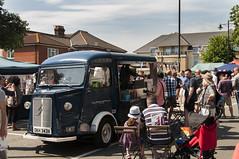 Bedford Place Vintage van