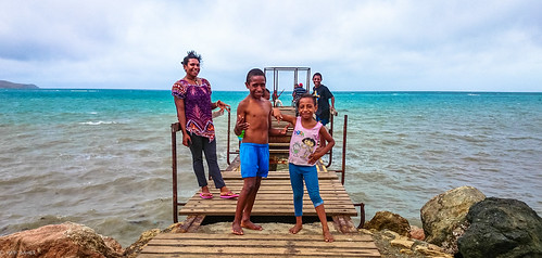new family people beach port guinea pier gulf jetty explorer dora png papua ethnic moresby