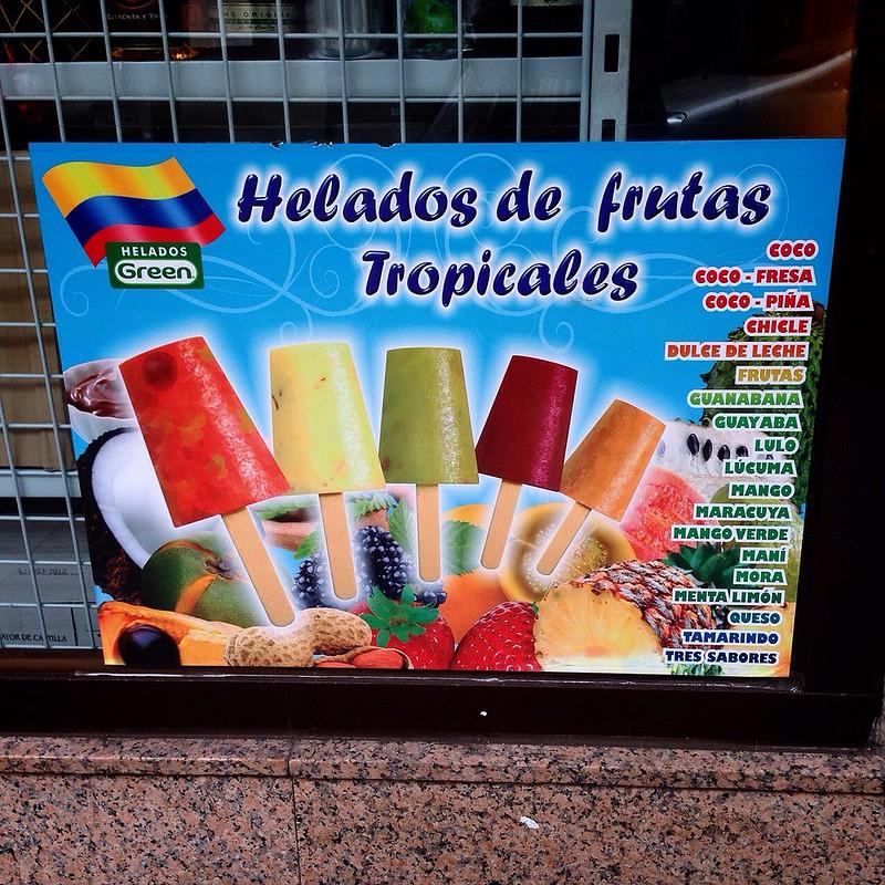 Helados colombianos