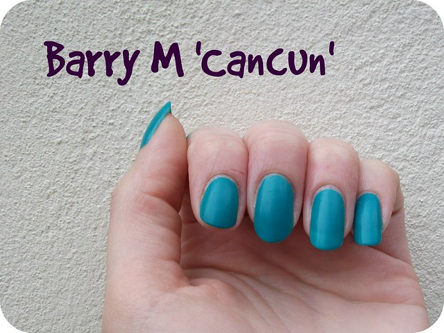Barry M Matte Cancun